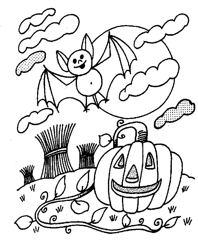 Coloriage Halloween Hugo L Escargot