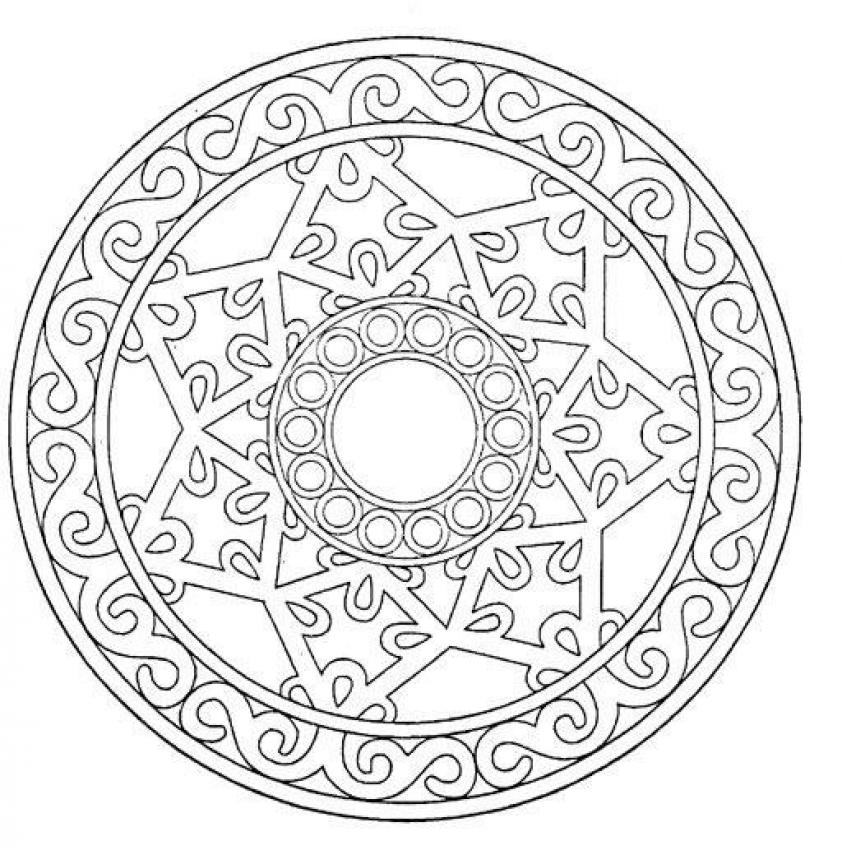 Mandalas for ADVANCED - Mandala 20
