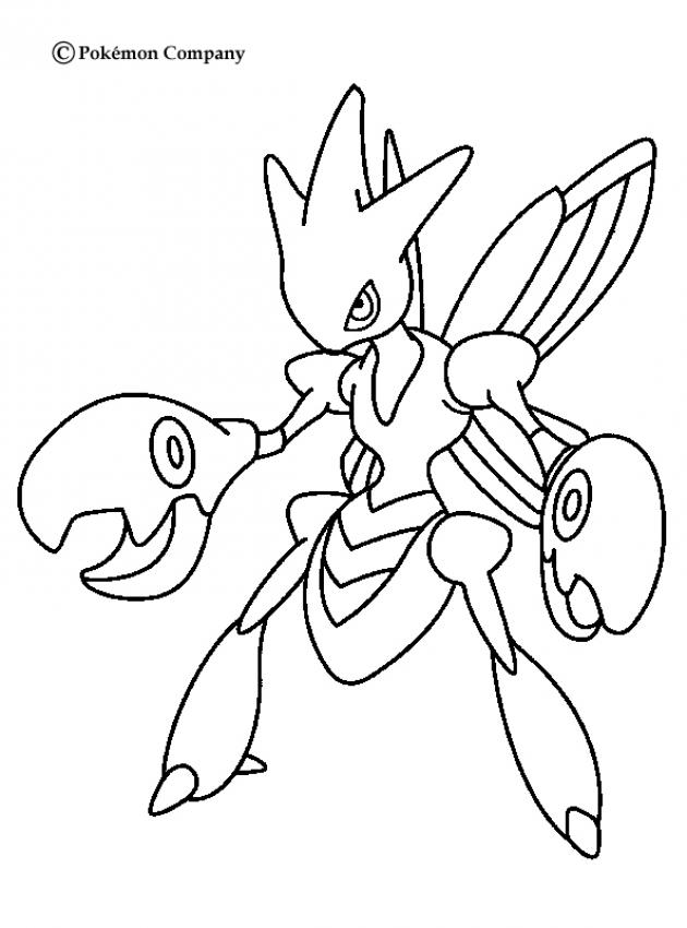 STEEL POKEMON coloring pages - Dialga