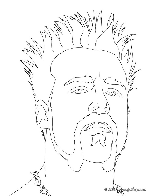 Dibujos Para Colorear John Cena Dibujo De John Cena El Luchador - AZ ...