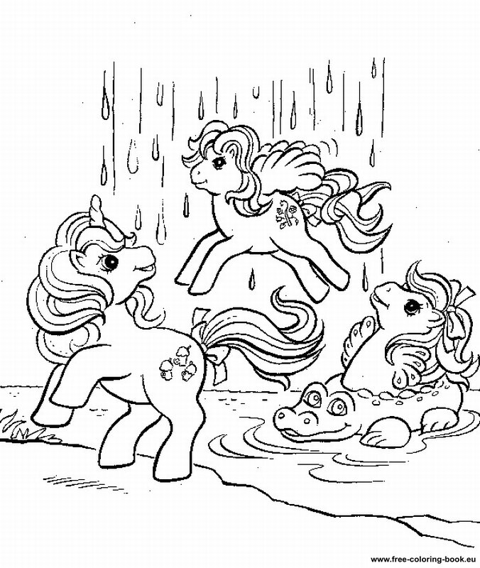 Coloring pages My Little Pony - Page 1 - Printable Coloring Pages