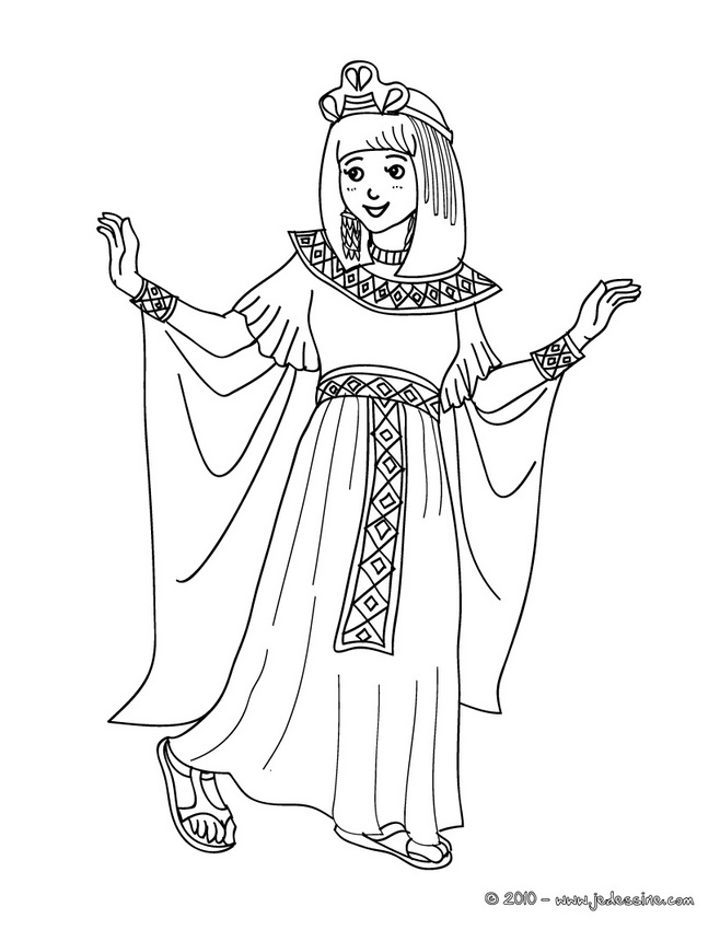 Coloriage CARNAVAL COSTUMES - Coloriage costume carnaval super-