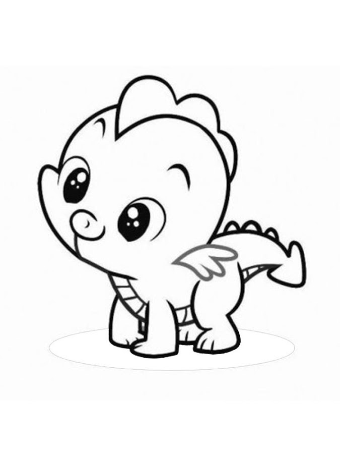 COLORING BOOK CUTE ANIMALS Applications Android Sur Google Play