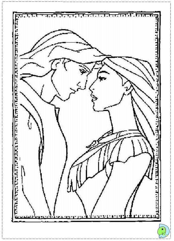 Disney Pocahontas Coloring Pages
