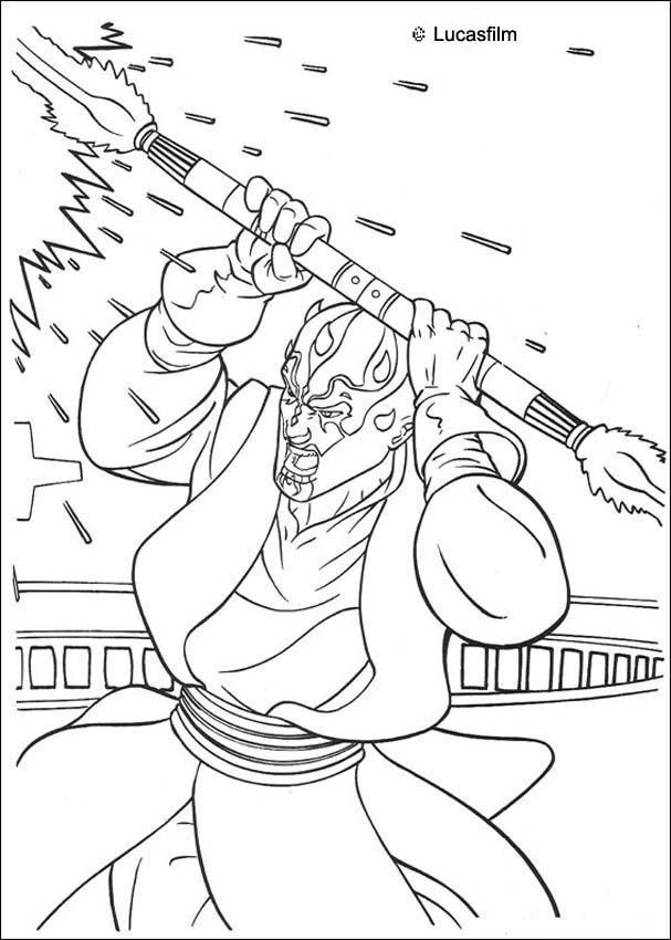 Free Colouring Pages Star Wars Clone Wars