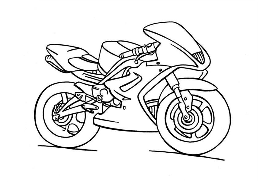 Bébé Motard Bébé Motard Coloriage Moto Gratuit Az