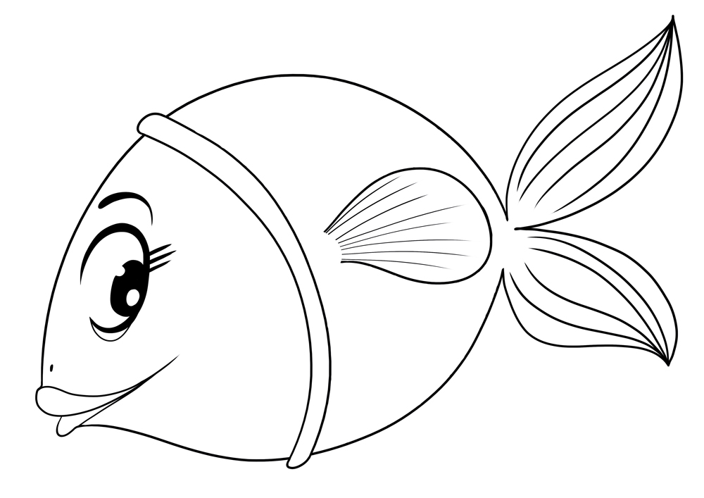 Dessin poisson facile a faire - Dessin poisson simple ...