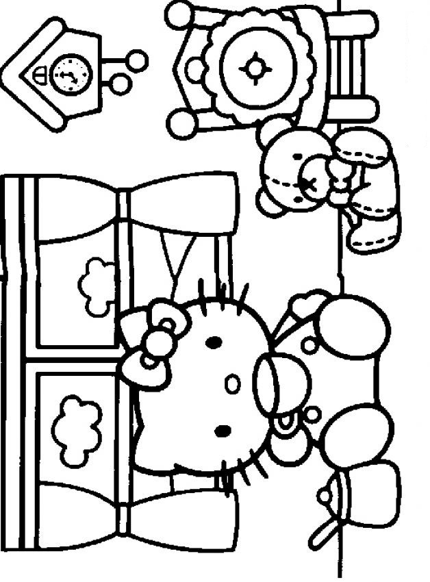 Exceptional Jeux Hello Kitty Gratuits #11: Coloriage - Schtroumpfs, Dragons, Hello Kitty, Barbie, Ariel