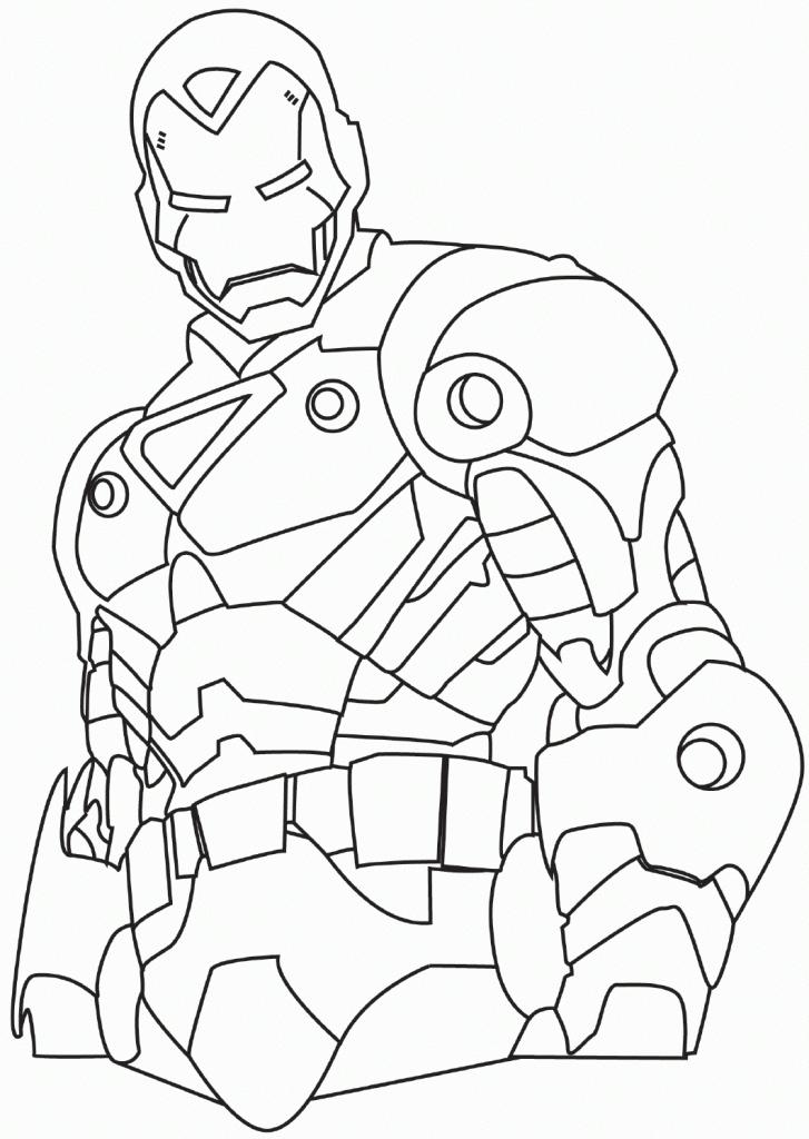 Coloriage Iron Man 3 Coloriages Pour Enfants Et Adultes Az Coloriage