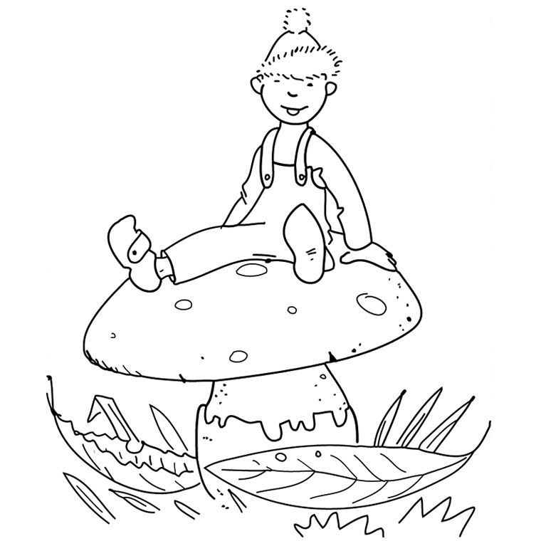 coloriage tom sawyer Coloriage