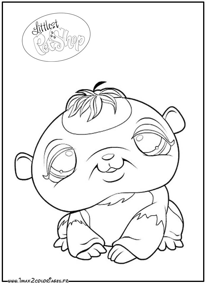 Coloriage PET SHOP (page 2) Coloriage