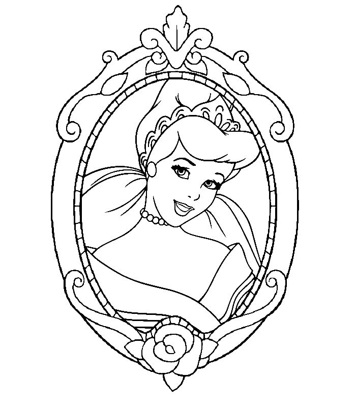 Coloriage cendrillon - Disney13