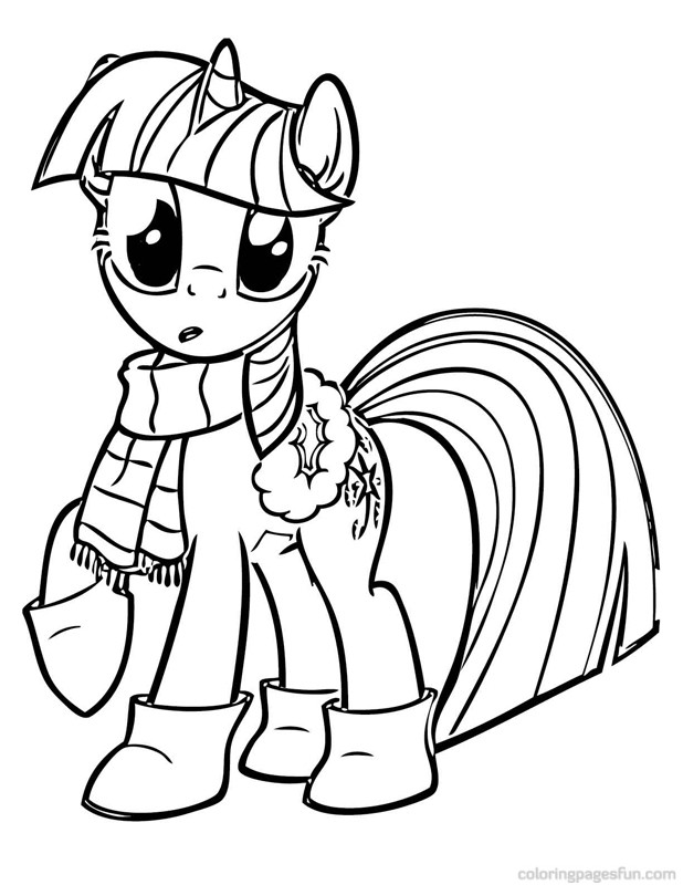 My Little Pony Coloring Pages (