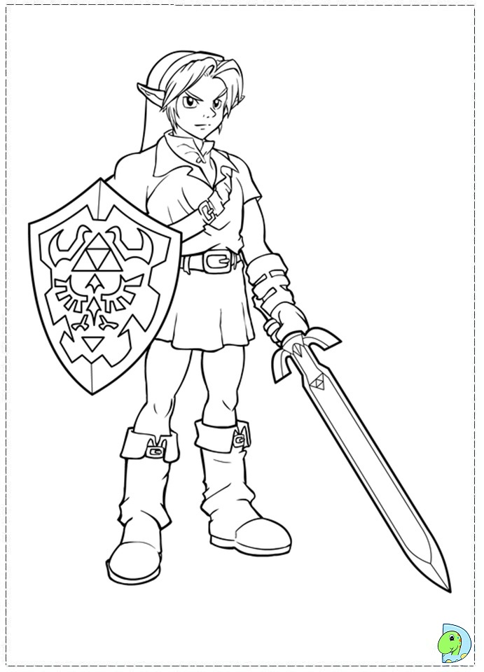 legend of zelda shek Colouring Pages (page 2)