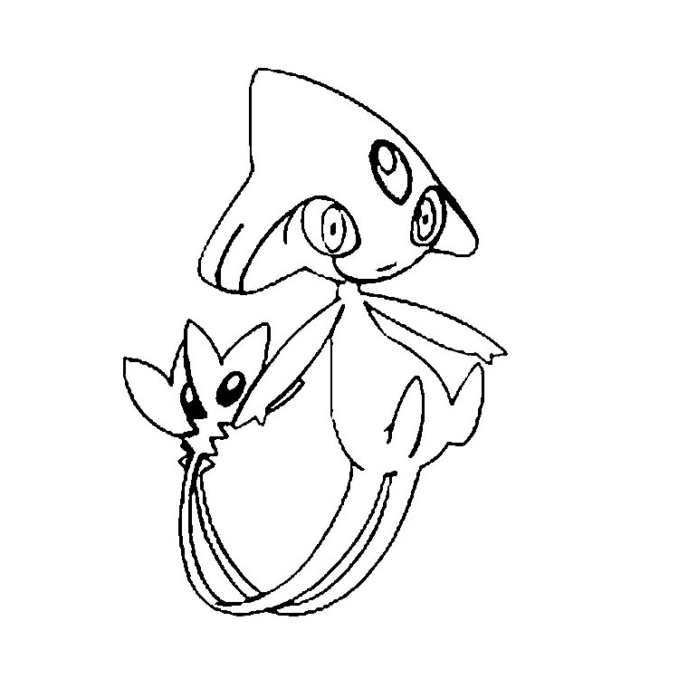 coloriage de pokemon Coloriage