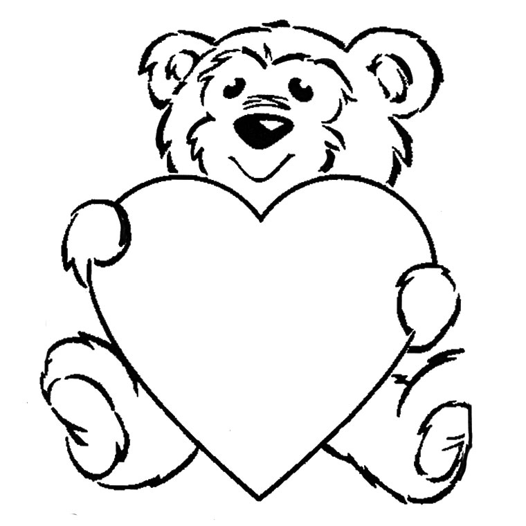 valentine coloring pages Coloriage