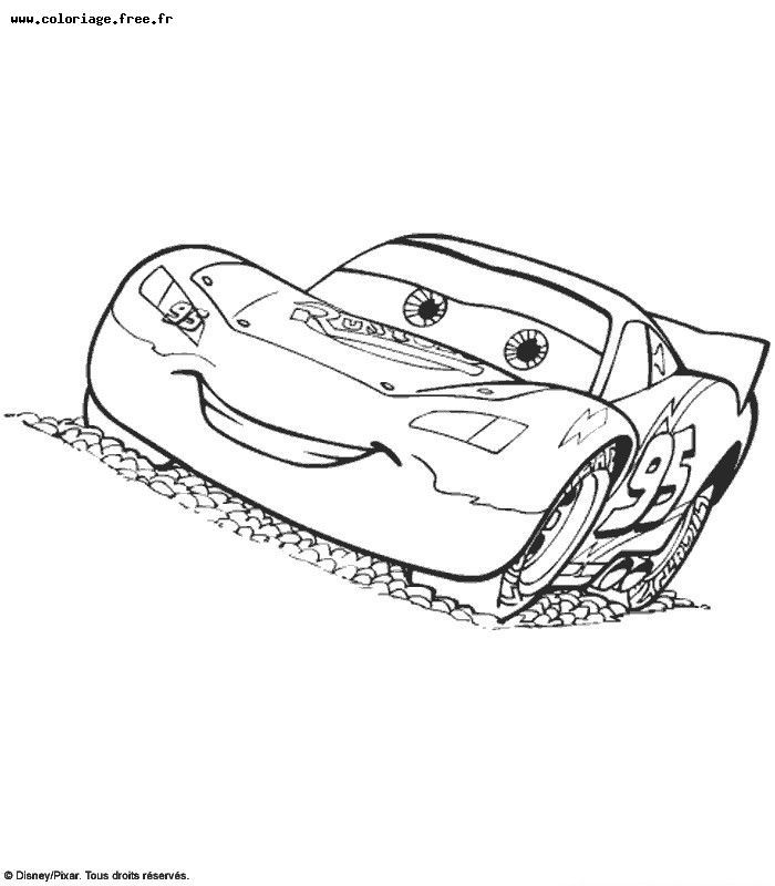 cars disney coloriage