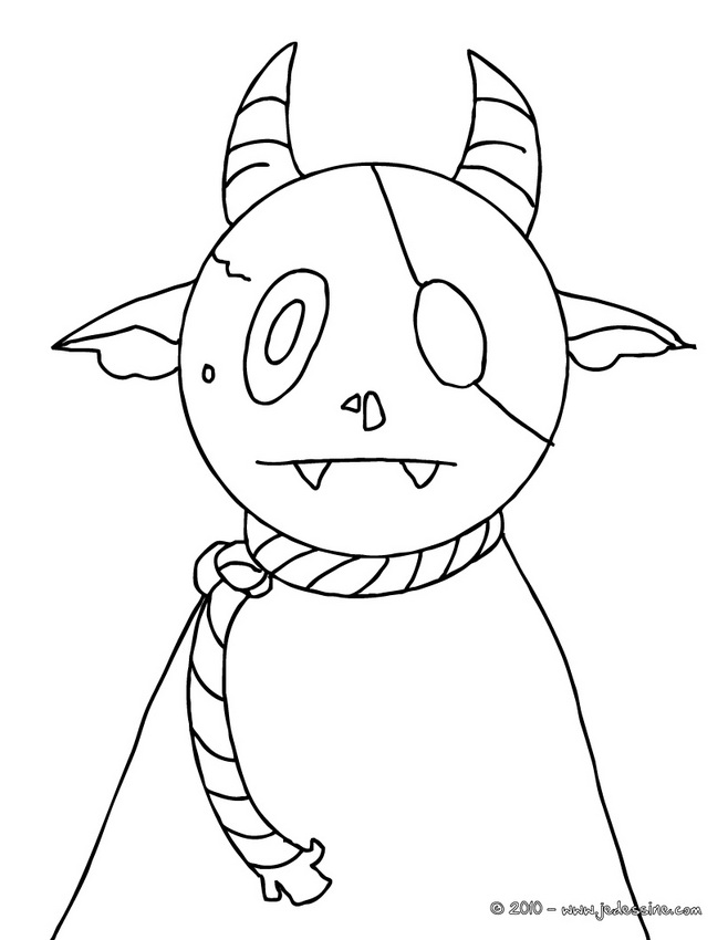 Coloriage MONSTRE HALLOWEEN : 39 coloriages d'Halloween gratuits à