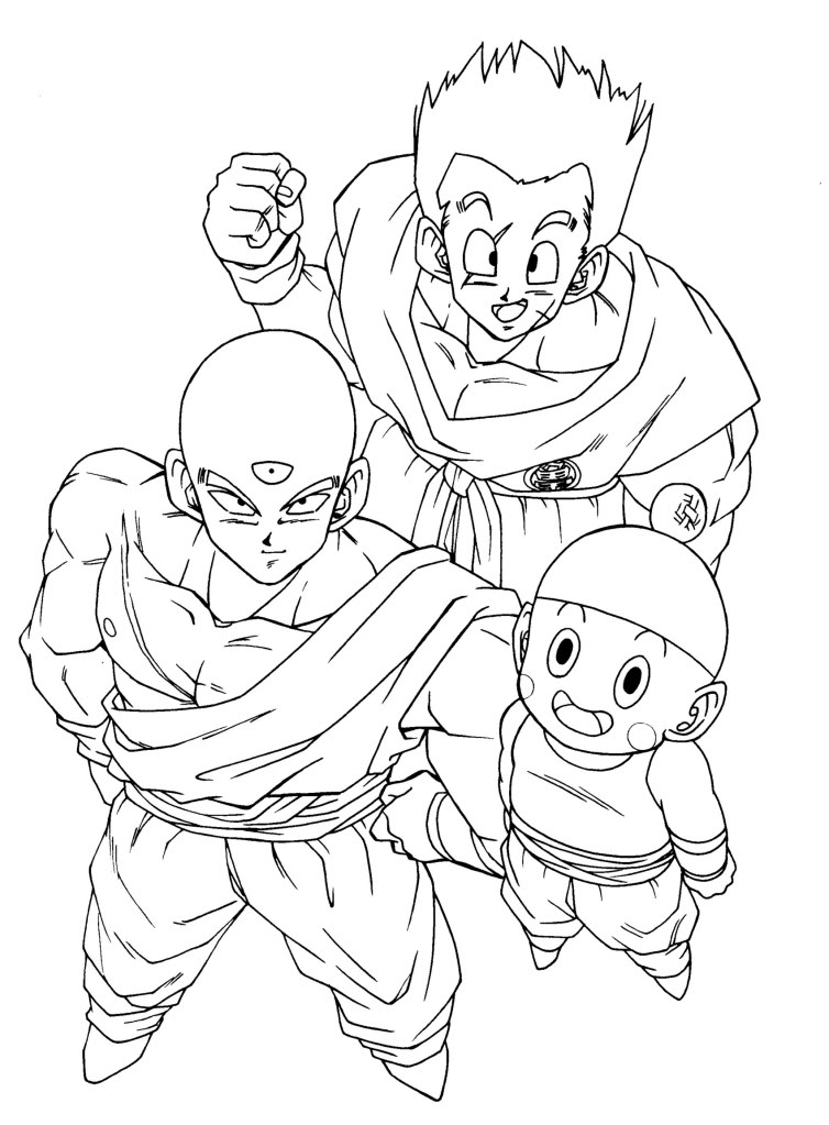Dragon ball a gt Coloriage
