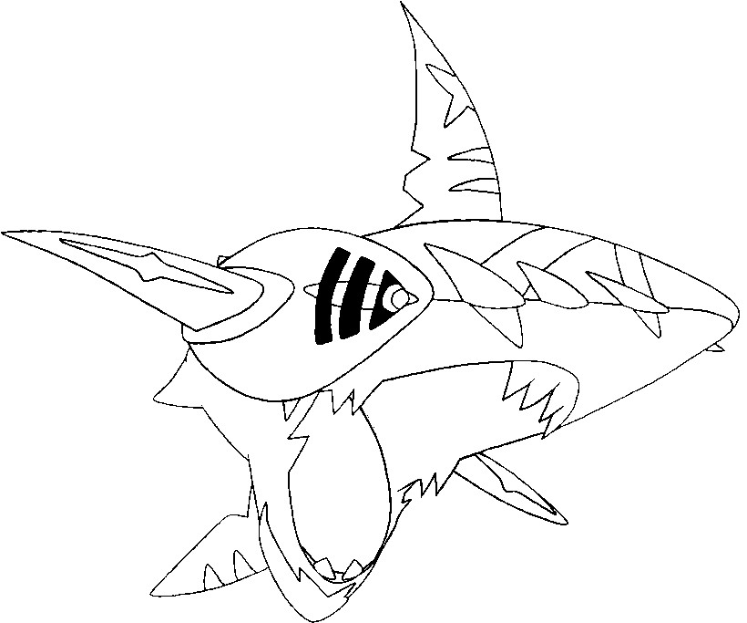 Gyarados Coloring Page In Addition Tracing Worksheets Printable In ...