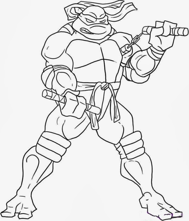 Ninja Turtle Coloring Pages | Coloring Pages