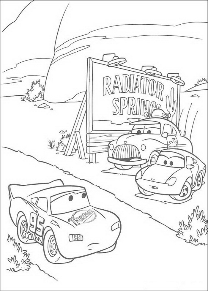 Gratis Kleurplaten Van Cars.Gratis Kleurplaten Van Cars Az Coloriage