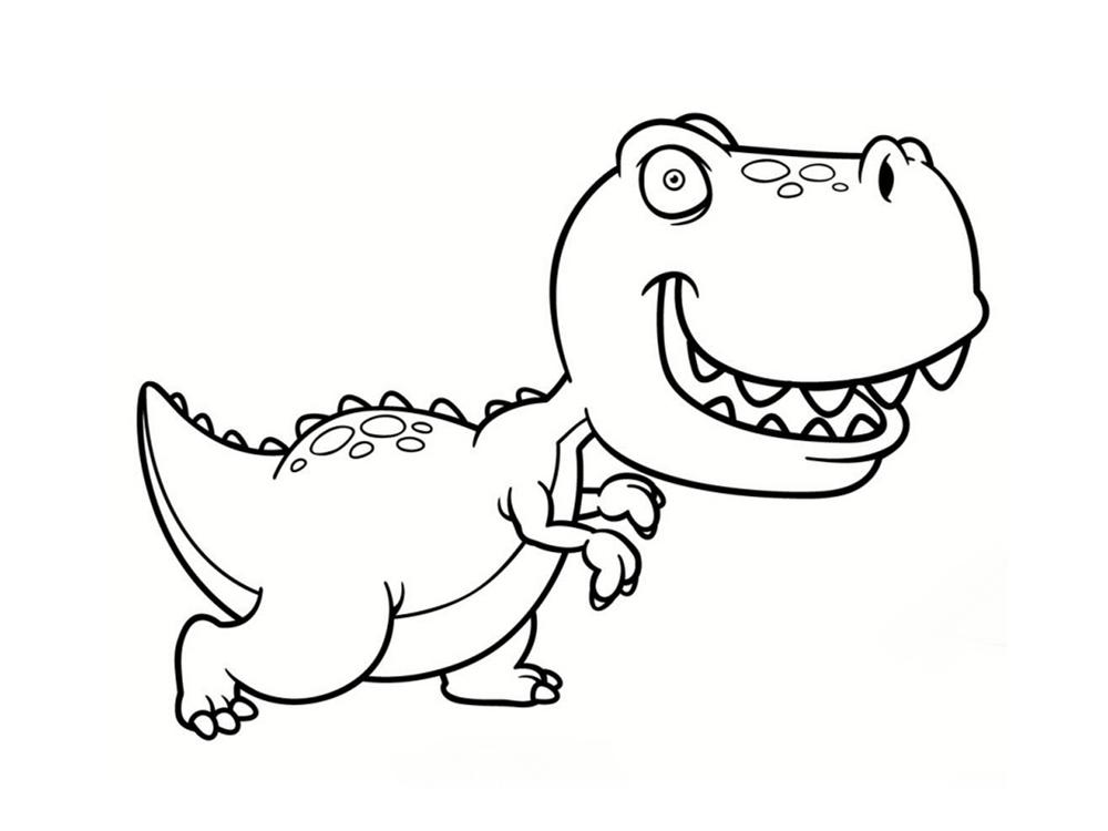 Célèbre Coloriage Dinosaure : 20 Dessins à Imprimer - AZ Coloriage GQ87