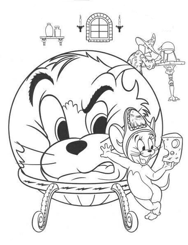 Coloriage Tom et jerry 10