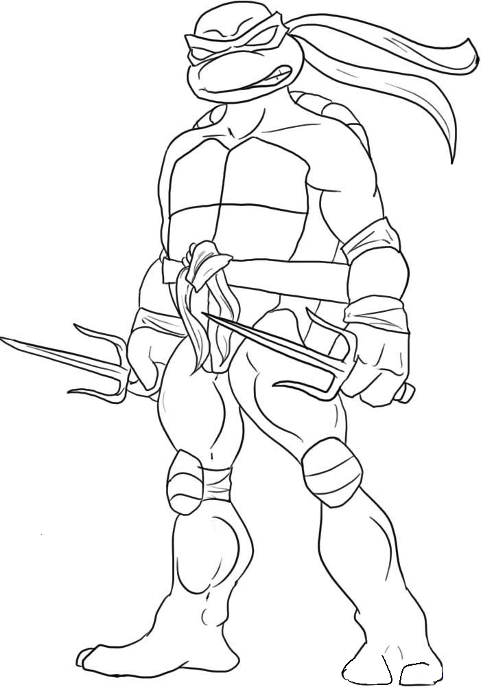 Coloring Pages Ninja Turtles - Free Printable Coloring Pages