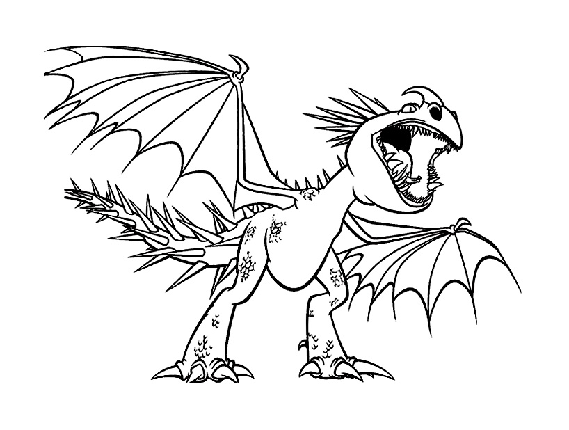 cauchemar monstrueux dragon