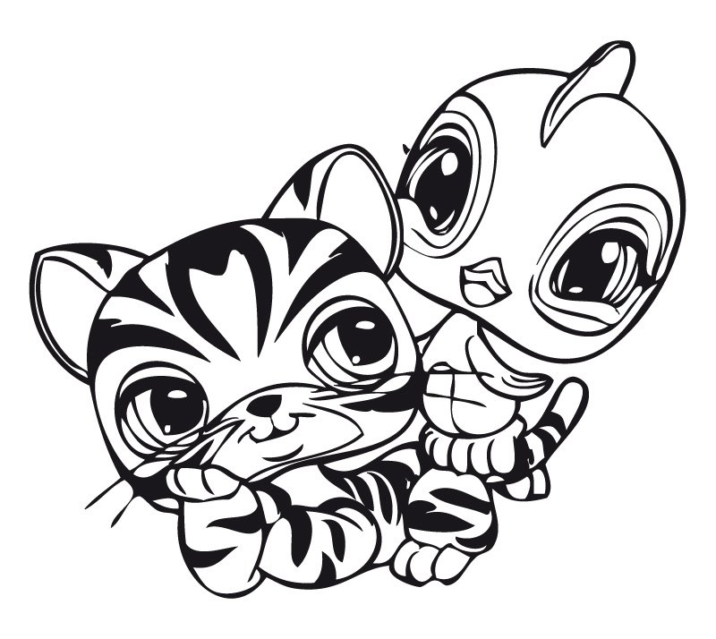 All New Lps Coloring Pages Az Coloriage