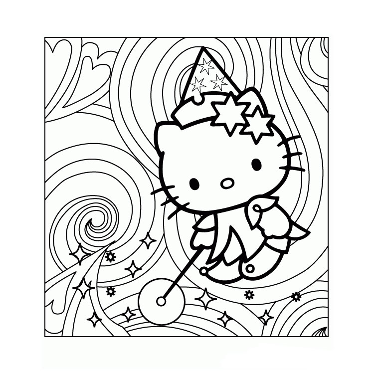 Coloriages a imprimer hello kitty az coloriage car interior design - Coloriage hello kitty ...