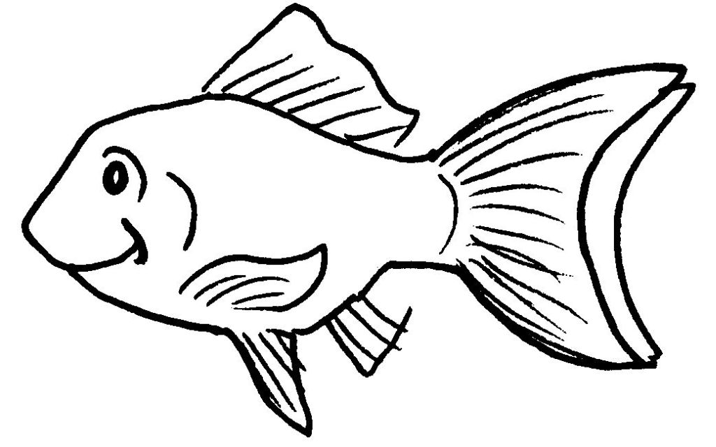 Image gallery le poisson dessin for Aquarium poisson rouge dessin
