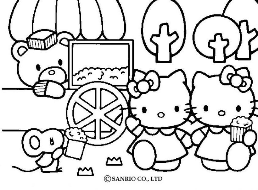 Hello Kitty12 Dibujo De Hello Kitty Para Imprimir Az Coloriage