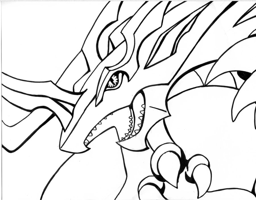 l drago destroy coloring pages - photo #18