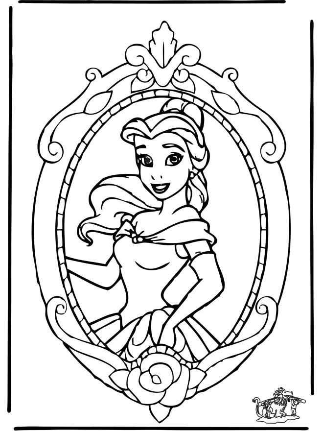Coloriage Princesse Disney | Coloriages