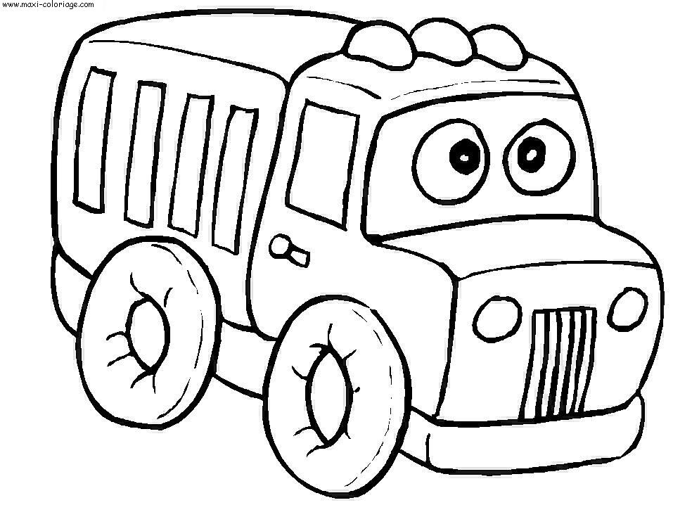 coloriage camions dessin camions camions coloriage n5241