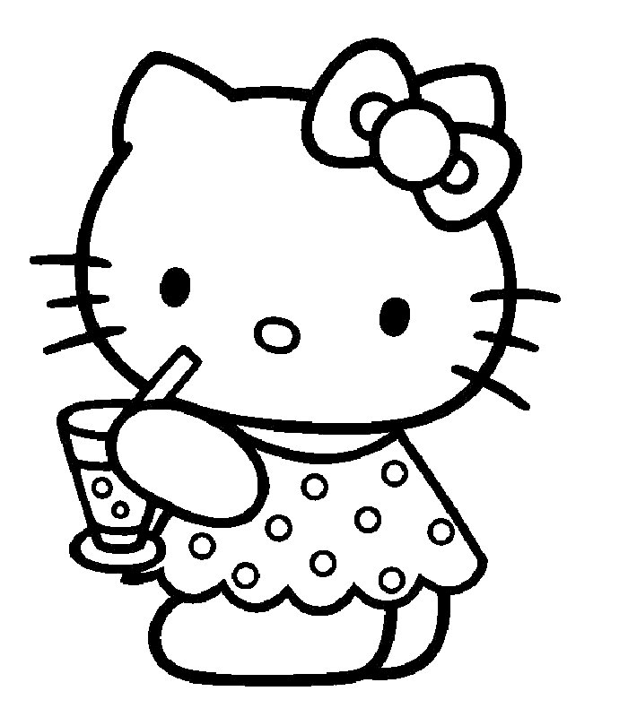Beautiful Jeux Hello Kitty Gratuits #13: Related Pictures Coloriage Hello Kitty 23 Car Pictures
