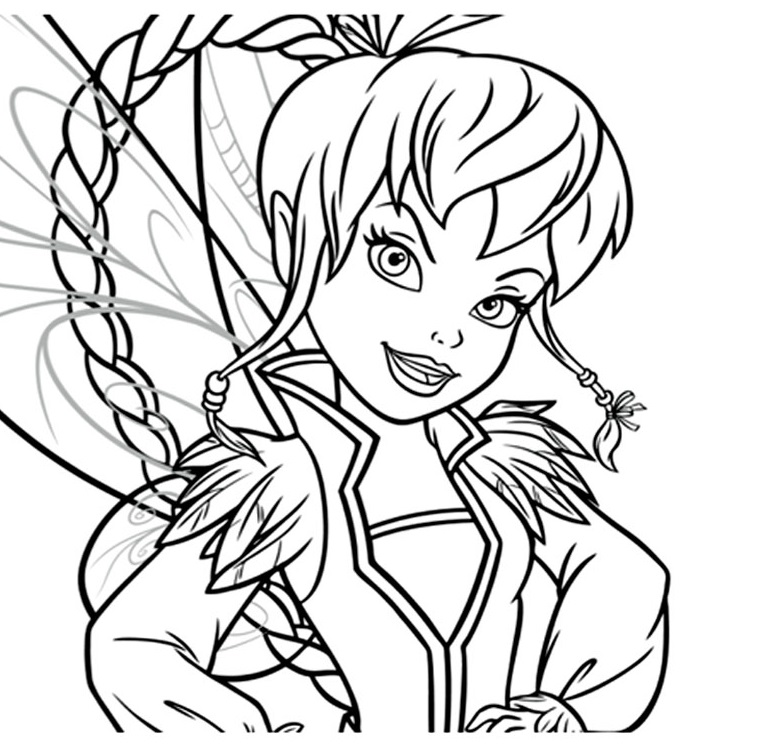 Fee Clochette Et Les Pirate Coloriage Az Coloriage