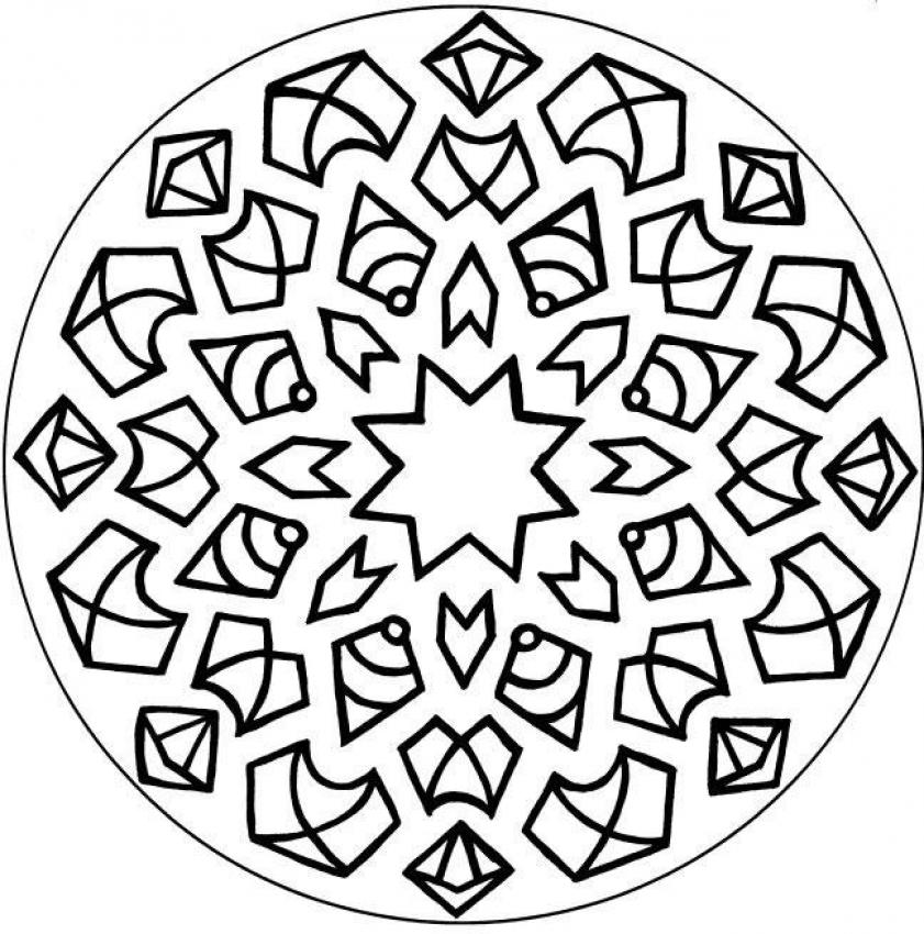 Mandalas for ADVANCED - Mandala 4