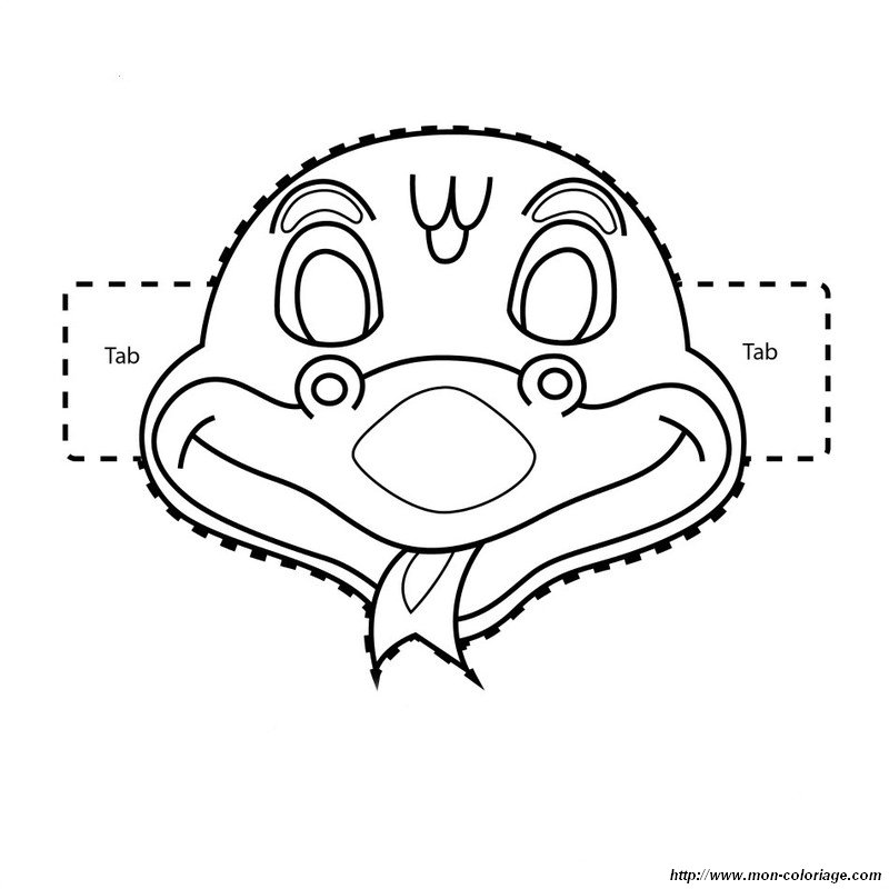 Coloriage Masque Clown.Masque De Clown A Imprimer Az Coloriage