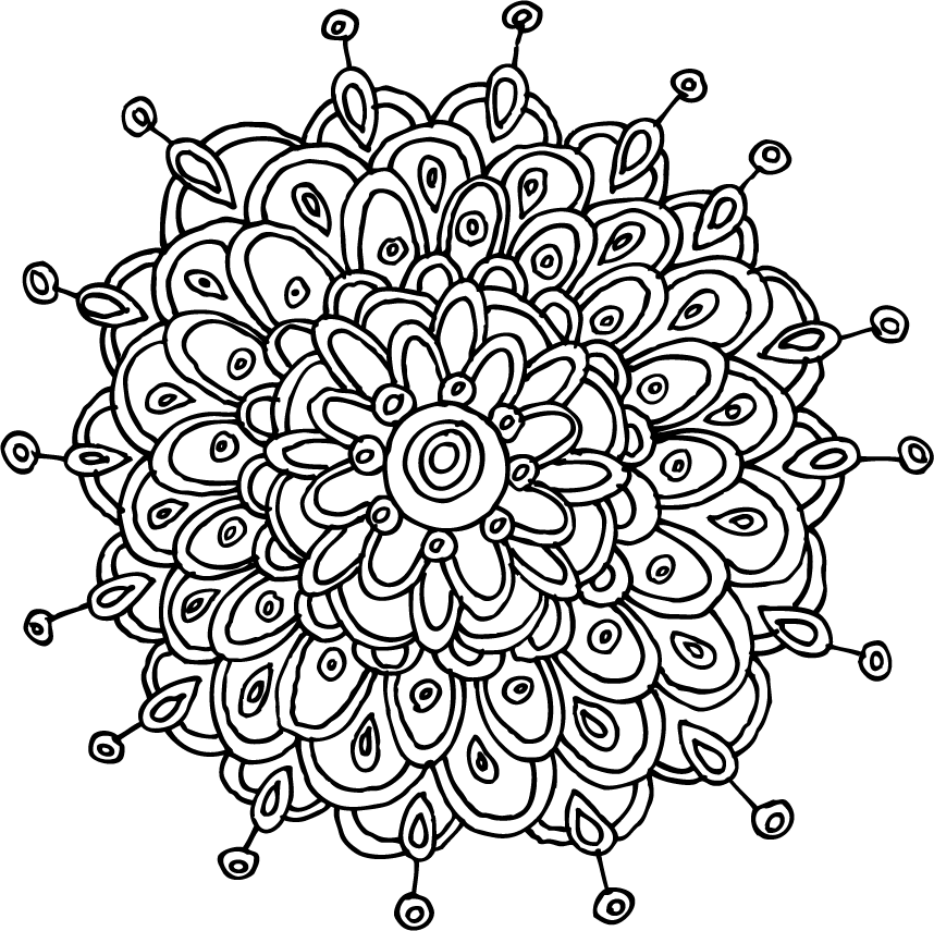 mandalas | pattern of the day