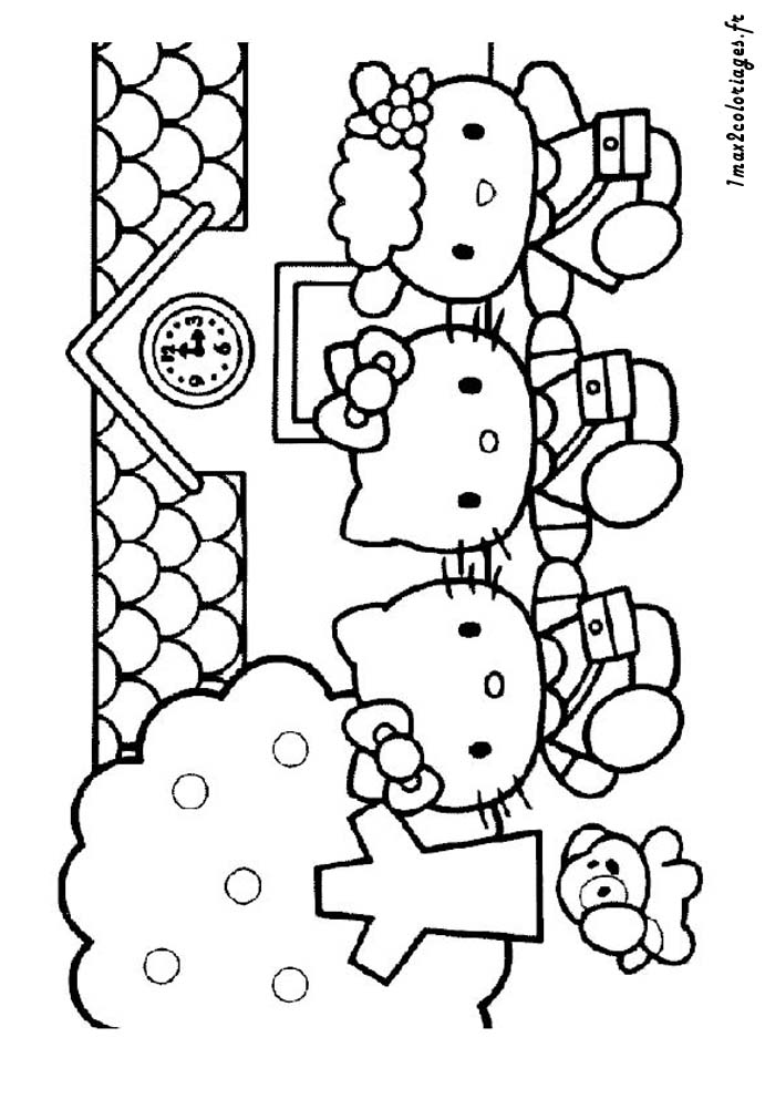 Coloriages Imprimer Hello Kitty Choisis Ton Coloriage Pictures