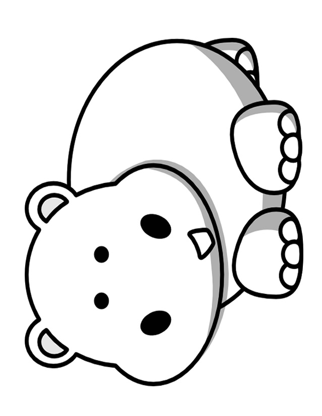 Coloriage Hippopotame à Imprimer Gratuitement Az Coloriage