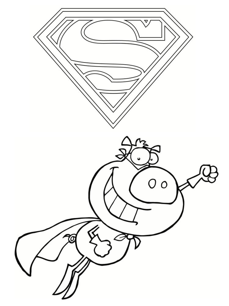 Coloriage Spider Cochon.Spider Cochon Az Coloriage