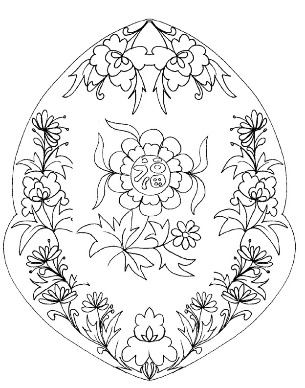 mandala lotus Coloriage