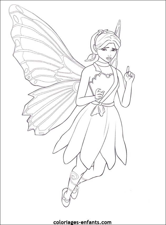 Coloriage La Fee Coquillette.Coloriage Fee A Imprimer Az Coloriage