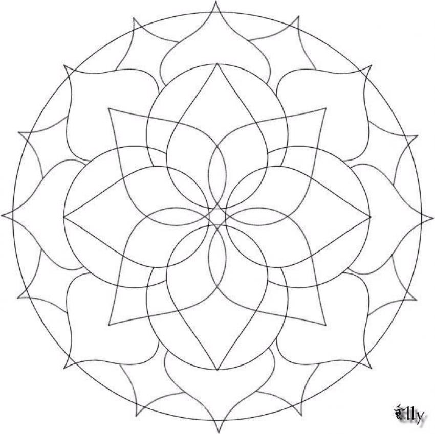 Mandalas for BEGINNERS - Mandala 19