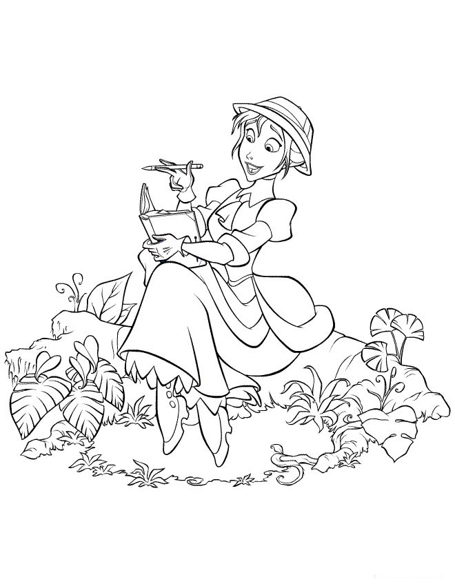 Disney Tarzan Coloring Pages List Az Coloriage