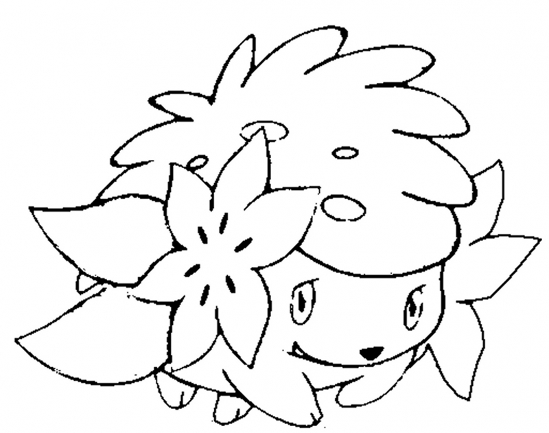 yejbljiq pokemon shaymin coloring page disney coloring pages